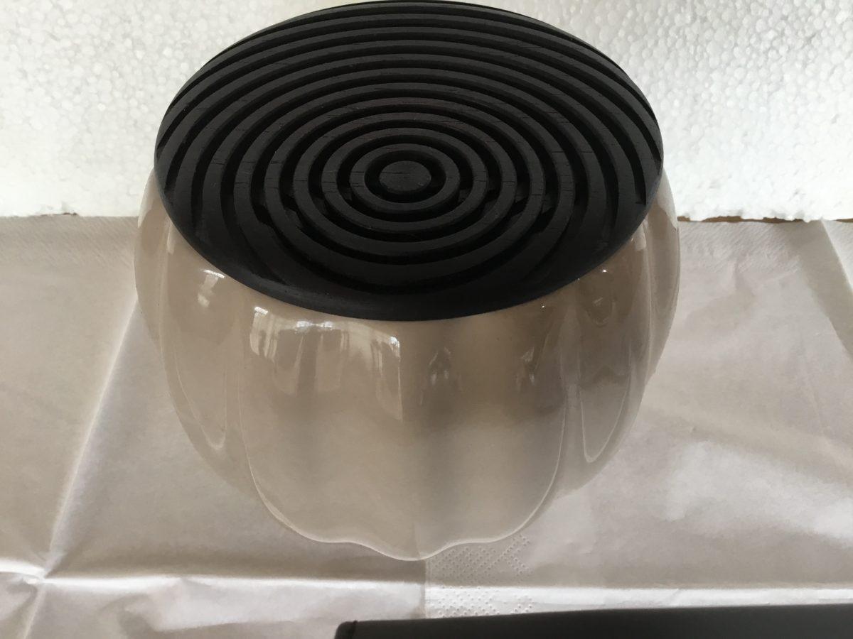 Keramik krukke, m sp låg